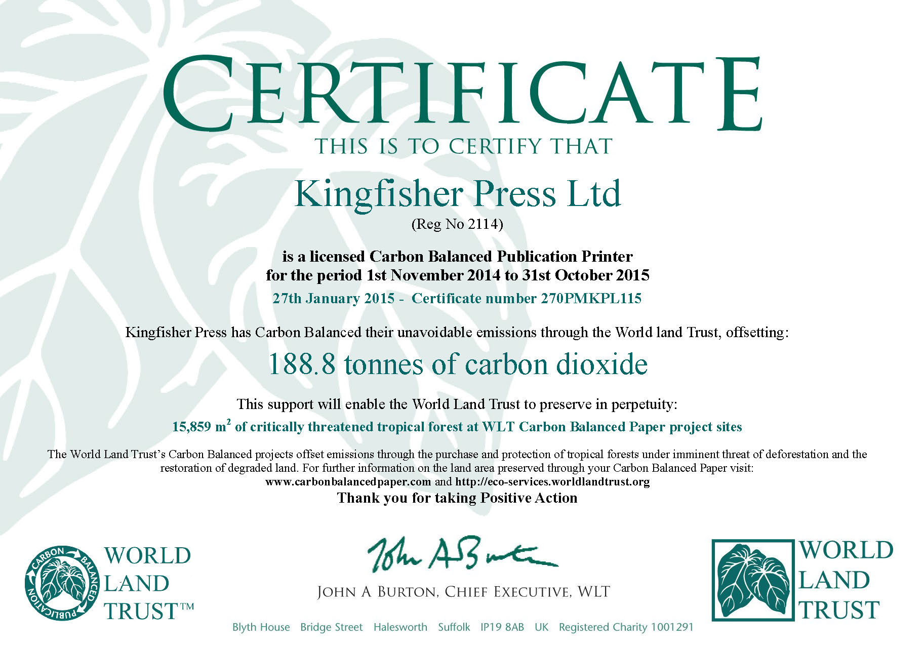 Kingfisher Press Page 24 Commercial Litho Jetpress High