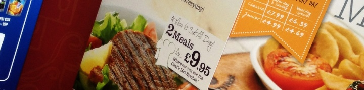 menu printing printers suffolk marketing promotional food print digital litho kingfisherpress